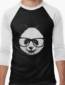Hipster Panda Men's Baseball ¾ T-Shirt