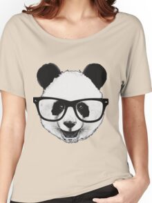 Hipster Panda Women's Relaxed Fit T-Shirt