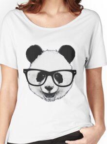 Hipster Panda Women's Relaxed Fit T-Shirt