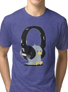 Music Bird Tri-blend T-Shirt