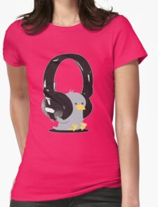 Music Bird Womens Fitted T-Shirt
