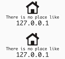There is no place like 127.0.0.1 by krop ★ $1.49 stickers
