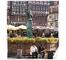 Frankfurt locals Poster