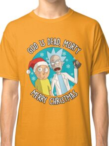 Rick & Morty -  Merry Christmas Classic T-Shirt