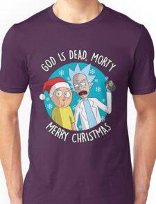 Rick & Morty -  Merry Christmas Unisex T-Shirt