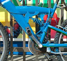 Blue Bike by Susan R. Wacker