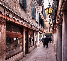 Trattoria Arca, Venice by Mike Church
