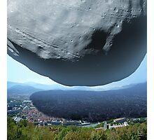 The Scale of Phobos Photographic Print