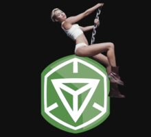 Ingress Miley - Green by arturlow