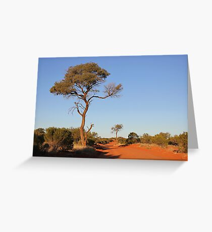 Road to Nowhere Greeting Card
