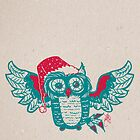Hibou de Noël by MareveDesign