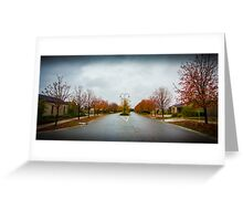 Beauty in Suburbia 2 Greeting Card