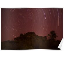 The Southern Celestial Pole, NT, Australia Poster