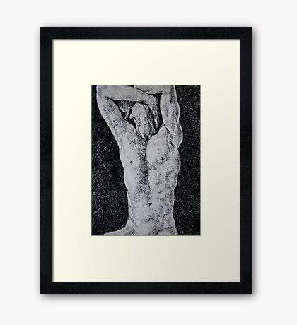 Torso Framed Print