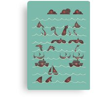 Shooting Gallery Canvas Print