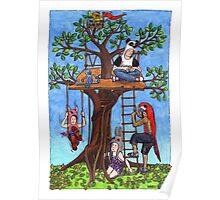 KMAY Hoodkid Treehouse Poster