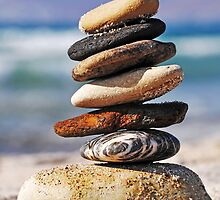 Pebble stack by luissantos84