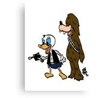 Duck Solo Canvas Print