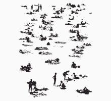 bondi peeps One Piece - Short Sleeve