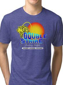 Double Strike Skokie Lagoon, Chicago Tri-blend T-Shirt