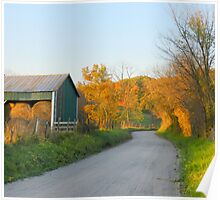 The Hay is in the Barn Poster