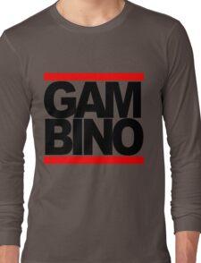 RUN GAMBINO Long Sleeve T-Shirt