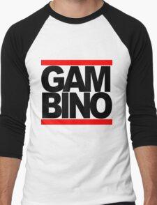 RUN GAMBINO Men's Baseball ¾ T-Shirt