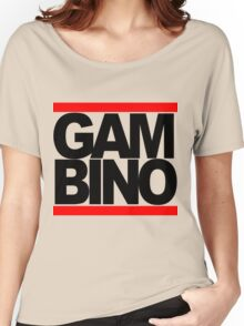 RUN GAMBINO Women's Relaxed Fit T-Shirt