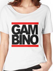 RUN GAMBINO Women's Relaxed Fit T-Shirt