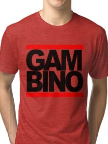 RUN GAMBINO Tri-blend T-Shirt