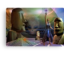 head space Canvas Print