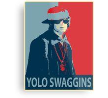 Yolo Swaggins Metal Print