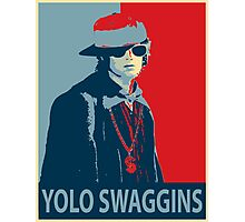Yolo Swaggins Photographic Print