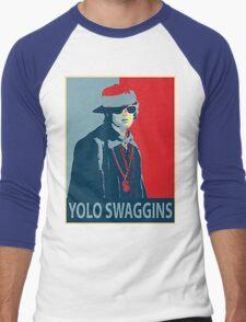 Yolo Swaggins Men's Baseball ¾ T-Shirt