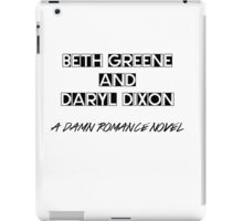 Damn romance novel iPad Case/Skin