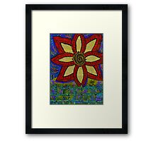 A Genetically Modified Blossom Framed Print