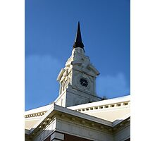 Church Clock Photographic Print