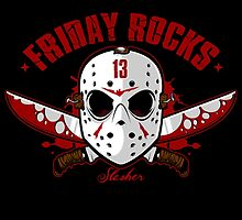 friday the 13th friday rocks by claritykiller