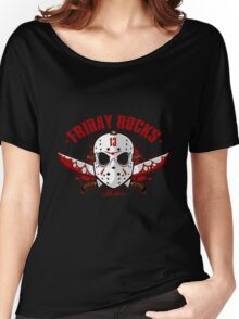 friday the 13th friday rocks Women's Relaxed Fit T-Shirt