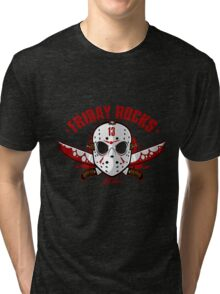 friday the 13th friday rocks Tri-blend T-Shirt