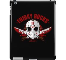 friday the 13th friday rocks iPad Case/Skin