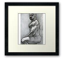 """Simplicity 5"" Framed Print"