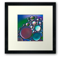 Oil and Water 11 Framed Print