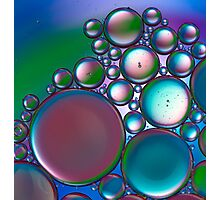 Oil and Water 11 Photographic Print