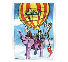 KMAY Hoodkids Balloon Ride Poster