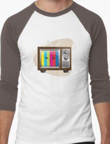 Retro Vision Men's Baseball ¾ T-Shirt