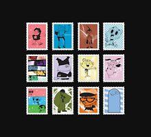 Cartoon Stamps: Cartoon Network Unisex T-Shirt