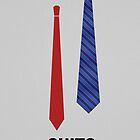 Suits | Ties - Minimalist Poster by Michelle Jung