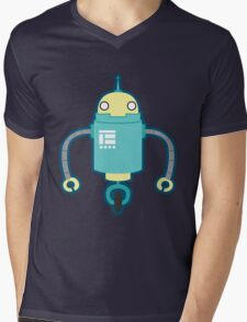 Droid Mens V-Neck T-Shirt