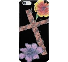 Blossoming Cross iPhone Case/Skin